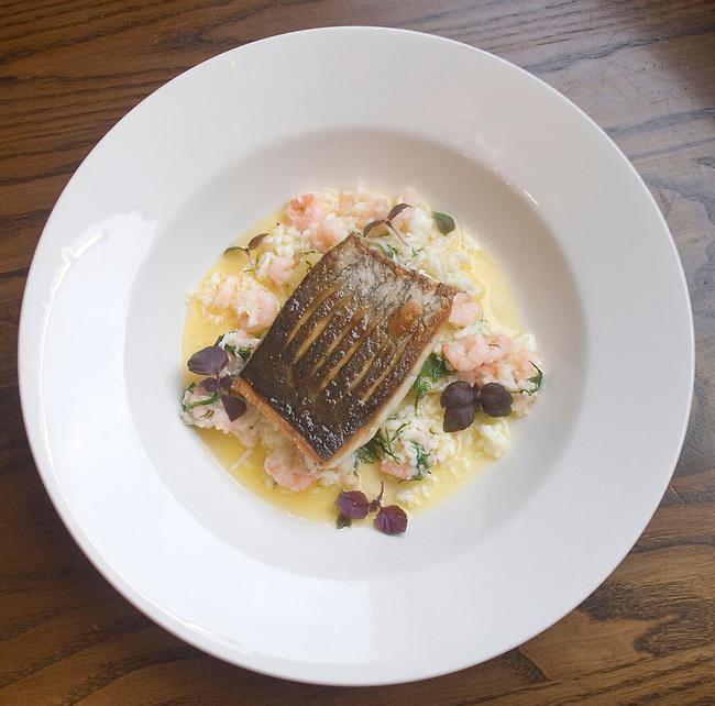 Seafood Dinner, Gun Restaurant, East London, London, Great Britain, Europe