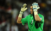 Essam El Hadary of Egypt. USA defeated Egypt 3-0 during the FIFA Confederations Cup at Royal Bafokeng Stadium in Rustenberg, South Africa on June 21, 2009.