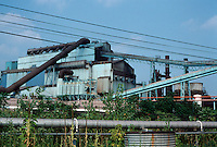 Pittsburgh: Braddock, The Edgar Thompson Works. Still producing steel in 2001, but not much. Photo 2001.