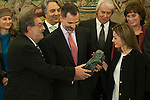 20141215 Spanish Royals Attend Several Audiences