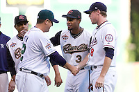 July 15, 2009: Sacramento River Cats' Eric Patterson (#3) during the 2009 Triple-A All-Star Game at PGE Park in Portland, Oregon.