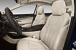 Front seat view of 2018 Buick LaCrosse Essence 4 Door Sedan Front Seat  car photos