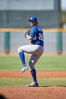 Kansas City Royals pitcher Anthony Bender (26) during an Instructional League game against the Cleveland Indians on October 11, 2016 at the Cleveland Indians Player Development Complex in Goodyear, Arizona.  (Mike Janes/Four Seam Images)