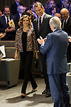 """The kings of Spain make delivery of accreditation to the new ambassadors fees """"Marca España"""" in his 6th edition at BBVA City in Madrid, November 12, 2015.<br /> (ALTERPHOTOS/BorjaB.Hojas)"""