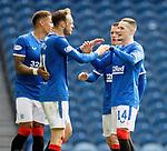 22.08.2020 Rangers v Kilmarnock: Ryan Kent celebrates his goal