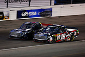 NASCAR Camping World Truck Series<br /> Drivin' For Linemen 200<br /> Gateway Motorsports Park, Madison, IL USA<br /> Saturday 17 June 2017<br /> Noah Gragson, Switch Toyota Tundra and Ben Rhodes, Safelite Auto Glass Toyota Tundra<br /> World Copyright: Barry Cantrell<br /> LAT Images