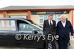 Dan & his father Danno Lyons -, Derry, Listowel of Lyons Funeral Home.