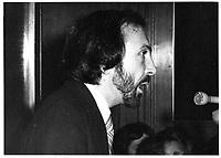 Le Ministre de l'Énergie Guy Joron, 6 novembre 1978<br /> <br /> PHOTO : JJ Raudsepp  - Agence Quebec presse