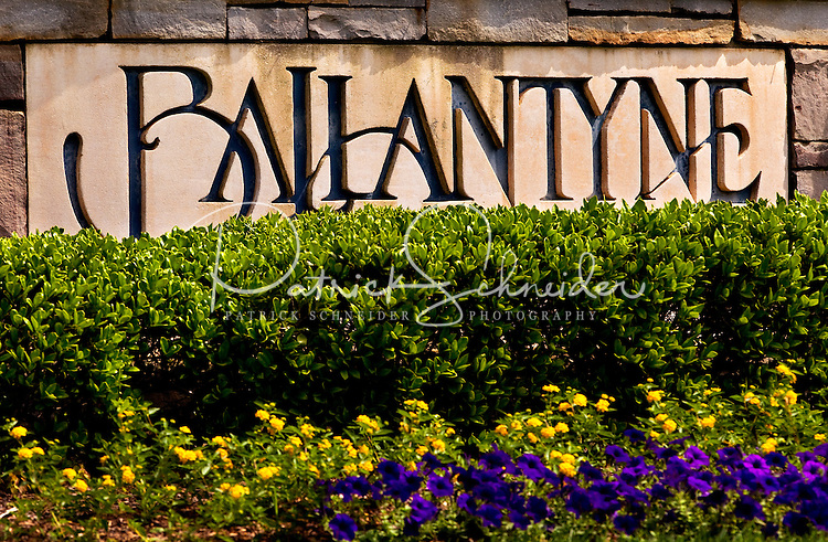 Ballantyne, a suburb of Charlotte NC, is located near the South Carolina border. The 2,000-acre mixed-use development was created by land developer Howard C. Smokey Bissell.