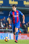 Luis Suarez of FC Barcelona in action during their La Liga match between Villarreal and FC Barcelona at the Estadio de la Cerámica on 08 January 2017 in Villarreal, Spain. Photo by Maria Jose Segovia Carmona / Power Sport Images