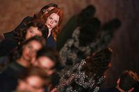 SÃO PAULO,SP, 23.10.2015 - FASHION-WEEK - Modelo durante desfile da grife Colcci na São Paulo Fashion Week Inverno 2016, no prédio da Bienal do Parque Ibirapuera, zona sul de São Paulo, nesta sexta-feira (23). (Foto: William Volcov/Brazil Photo Press)