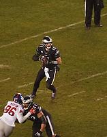 quarterback Carson Wentz (11) of the Philadelphia Eagles - 09.12.2019: Philadelphia Eagles vs. New York Giants, Monday Night Football, Lincoln Financial Field