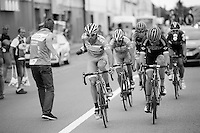 Marco Marcato (ITA/Wanty-Groupe Gobert) snatching a bidon from the soigneur in the feedzone <br /> <br /> GP Jef Scherens 2015