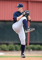 March 25, 2010:  Pitcher Evan Deluca of the New York Yankees organization during a Spring Training game at the Carpenter Complex in Clearwater, FL.  Photo By Mike Janes/Four Seam Images