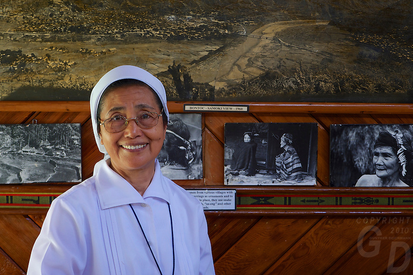 Sr.Marcel Agang ang, SIHM Bontoc Museum Curator Mountain Province, Philippines