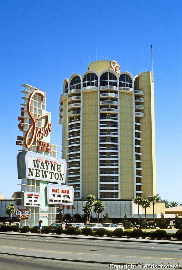 Las Vegas: The Sands Hotel. Photo '79.