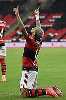 Rio de Janeiro (RJ), 22/05/2021 - Flamengo-Fluminense - Gabriel Gabigol  jogador do Flamengo comemora seu gol,durante partida contra o Fluminense,válida pela final do Campeonato Carioca 2021,realizada no Estádio Jornalista Mário Filho (Maracanã), na zona norte do Rio de Janeiro, neste sábado (22).