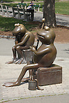 Tadpole sculptures, Boston Common, MA