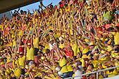 Hinchas de Colombia en el partido contra Peru  en el Estadio Metropolitano Roberto Melendez de Barranquilla el  8 de octubre de 2015.<br /> <br /> Foto: Archivolatino<br /> <br /> COPYRIGHT: Archivolatino<br /> Prohibido su uso sin autorización.