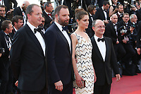 YORGOS LANTHIMOS AND ARIANE LABED - RED CARPET OF THE CLOSING CEREMONY AT THE 70TH FESTIVAL OF CANNES 2017