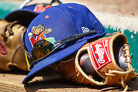 Midland RockHounds hat on June 28, 2015 at Nelson Wolff Stadium in San Antonio, Texas. The Missions defeated the RockHounds 7-2. (Andrew Woolley/Four Seam Images)
