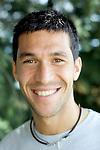 Atletico de Madrid's Luis Garcia during a portrait session at Cerro del Espino facility in Majadahonda, August 23, 2007. (ALTERPHOTOS/Alvaro Hernandez).