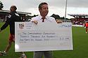 Steveange chairman Phil Wallace<br />  Stevenage v Oldham Athletic - Sky Bet League 1 - Lamex Stadium, Stevenage - 3rd August, 2013<br />  © Kevin Coleman 2013