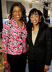 Dr. Kelly Coleman and Cynthia Coleman at a Dress for Dinner event featuring shoe designer Edgardo Osorio at Saks Fifth Avenue Wednesday Oct. 28, 2015.(Dave Rossman photo)