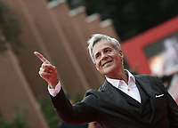 Italian singer Claudio Baglioni arrives at the 16th edition of the Rome Film Fest in Rome, on October 22, 2021.<br /> UPDATE IMAGES PRESS/Isabella Bonotto