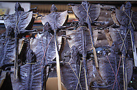 Dried Chinese lizard is often added to soups and hot-pots. Selling for around 20 RMB (2.5 US$) per 50 grams, the lizard is said to help prevent acne and skin blemishes. It is popular with women...PHOTO BY SINOPIX