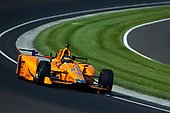 Verizon IndyCar Series<br /> Indianapolis 500 Practice<br /> Indianapolis Motor Speedway, Indianapolis, IN USA<br /> Tuesday 16 May 2017<br /> Fernando Alonso, McLaren-Honda-Andretti Honda<br /> World Copyright: Phillip Abbott<br /> LAT Images<br /> ref: Digital Image abbott_indyP_0517_10889