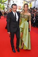 Antonio Banderas et Nicole Kimpel sur le tapis rouge pour la soirée dans le cadre de la journée anniversaire de la 70e édition du Festival du Film à Cannes, Palais des Festivals et des Congres, Cannes, Sud de la France, mardi 23 mai 2017.
