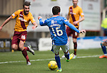 Motherwell v St Johnstone….07.05.16  Fir Park, Motherwell<br />Danny Swanson makes it 2-1<br />Picture by Graeme Hart.<br />Copyright Perthshire Picture Agency<br />Tel: 01738 623350  Mobile: 07990 594431