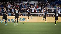 SAN JOSE,  - AUGUST 31: Magnus Eriksson #7 of the San Jose Earthquakes celebrates his goal during a game between Orlando City SC and San Jose Earthquakes at Avaya Stadium on September 1, 2019 in San Jose, .