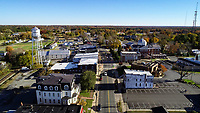 Downtown area of Louisa, Virginia. Photo/Andrew Shurtleff Photography, LLC