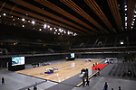 February 2, 2020, Tokyo, Japan - Japan's Ariake Arena is opend for the press after the opening ceremony in Tokyo on Sunday, February 2, 2020. Ariake Arena, 15,000 seats multiple purpose hall will be used for Olympic volleyball and Paralympic wheelchair basketball events.    (Photo by Yoshio Tsunoda/AFLO)