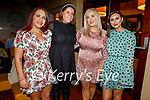 Sarah Ward, Karen O'Driscoll, Maura O'Connor and Triona Casey enjoying the evening in Benners Hotel on Saturday.