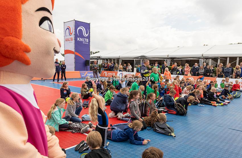 Rosmalen, Netherlands, 11 June, 2019, Tennis, Libema Open, Kidsday, press conference<br /> Photo: Henk Koster/tennisimages.com
