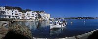 Europe/Espagne/Baléares/Minorque/Mahon : Cala Figuera sur le port