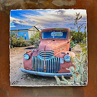 Sticky Situation - Mixed Media - Arizona - Chevy<br />