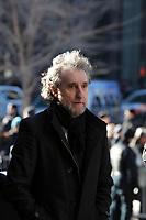 Jacques Dion (brother of Celine) attend  the funeral of Rene Angelil, , Friday Jan. 22, 2016 at Notre-Dame Basilica in Montreal, Canada.<br /> <br /> <br /> <br /> <br /> <br /> <br /> <br /> <br /> <br /> <br /> <br /> <br /> <br /> .