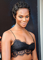 NEW YORK CITY, NY, USA - JULY 21: Tika Sumpter at the New York Premiere Of 'Get On Up' held at The Apollo Theater on July 21, 2014 in New York City, New York, United States. (Photo by Celebrity Monitor)