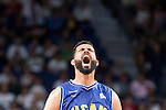 UCAM Murcia's Faverani during the first match of the playoff at Barclaycard Center in Madrid. May 27, 2016. (ALTERPHOTOS/BorjaB.Hojas)