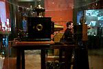 Cinematograph on display at the Institut Lumiere, Lyon, France, 13 January 2012<br /> <br /> ***HINWEIS BEZUEGLICH DER ABBILDUNG VON KUNSTWERKEN. RECHTE DRITTER SIND VOM NUTZER ZU KLAEREN***
