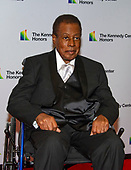 Wayne Shorter arrives for the formal Artist's Dinner honoring the recipients of the 41st Annual Kennedy Center Honors hosted by United States Deputy Secretary of State John J. Sullivan at the US Department of State in Washington, D.C. on Saturday, December 1, 2018. The 2018 honorees are: singer and actress Cher; composer and pianist Philip Glass; Country music entertainer Reba McEntire; and jazz saxophonist and composer Wayne Shorter. This year, the co-creators of Hamilton writer and actor Lin-Manuel Miranda, director Thomas Kail, choreographer Andy Blankenbuehler, and music director Alex Lacamoire will receive a unique Kennedy Center Honors as trailblazing creators of a transformative work that defies category.<br /> Credit: Ron Sachs / Pool via CNP