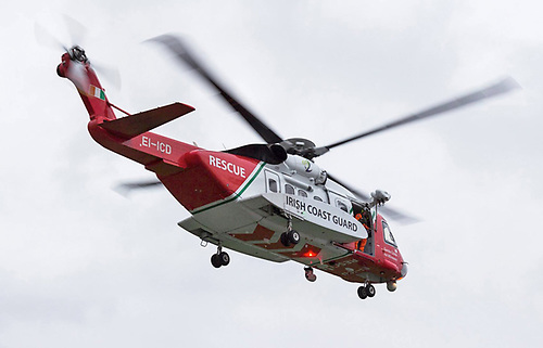 The Irish Coast Guard's Shannon-based helicopter Rescue 115
