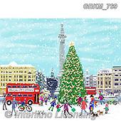 Kate, CHRISTMAS SYMBOLS, WEIHNACHTEN SYMBOLE, NAVIDAD SÍMBOLOS,London, paintings+++++,GBKM769,#xx#