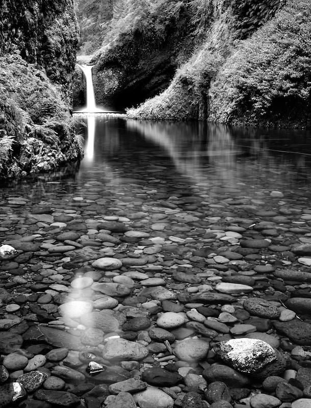 Punchbowl Falls. Columbia River Gorge. Oregon.