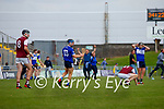 Players after the County Senior hurling Semi-Final between St. Brendans and Causeway at Austin Stack park on Sunday.