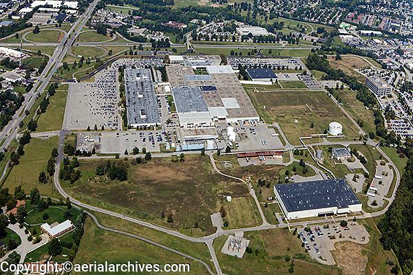 aerial photograph commercial real estate Lexington, Kentucky